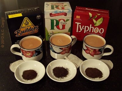 3 Teas Compete - Which is the Better Builders Tea? via the Tea Blog.