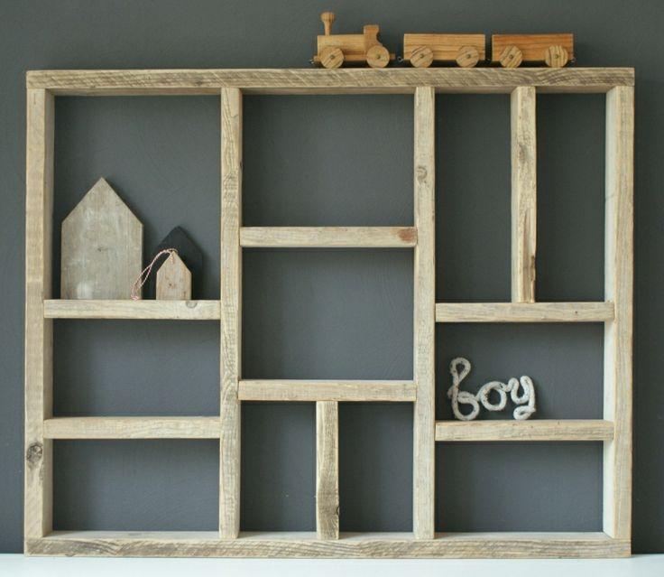 Letterbak XL van steigerhout | Accessoires | Little Luxe