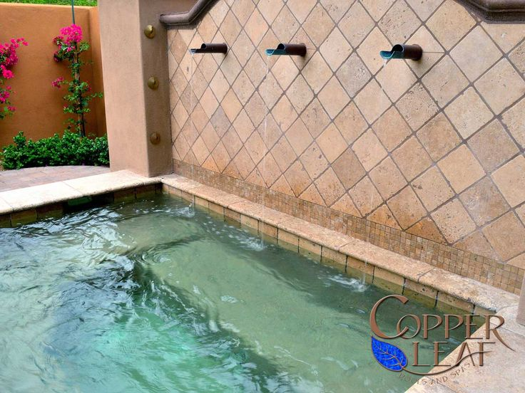 36 best scuppers images on pinterest water garden for Az pond and pool