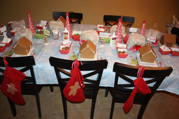 Gingerbread Party with Santa | CatchMyParty.com