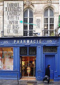 Paris insolite - une pharmacie