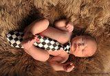 Tie for Boys - Black and White Small Checkers | Bébé Oh La La!