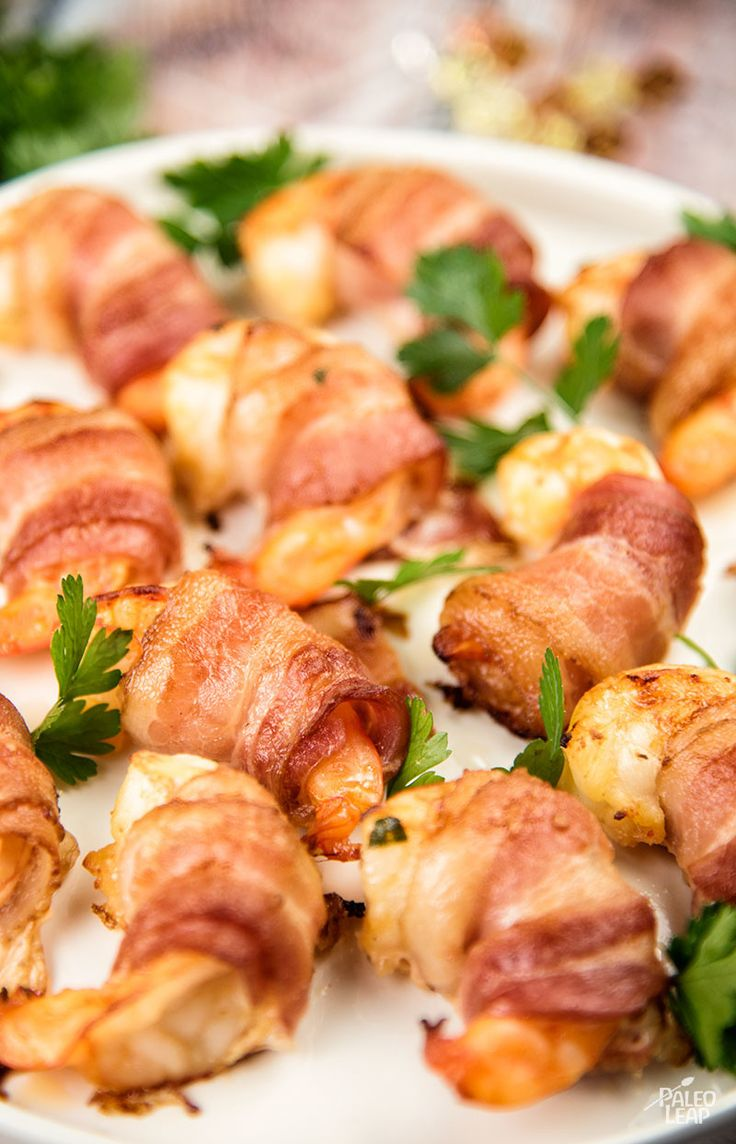 Zesty marinated Bacon-Wrapped Shrimp - Shrimp with hot sauce, shrimp with lemon zest, or shrimp with bacon? If you can' decide, have them all at once! (Paleo, Gluten Free)