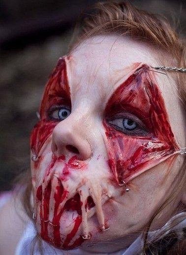 20 Of The Creepiest Halloween Makeup Ideas Halloween
