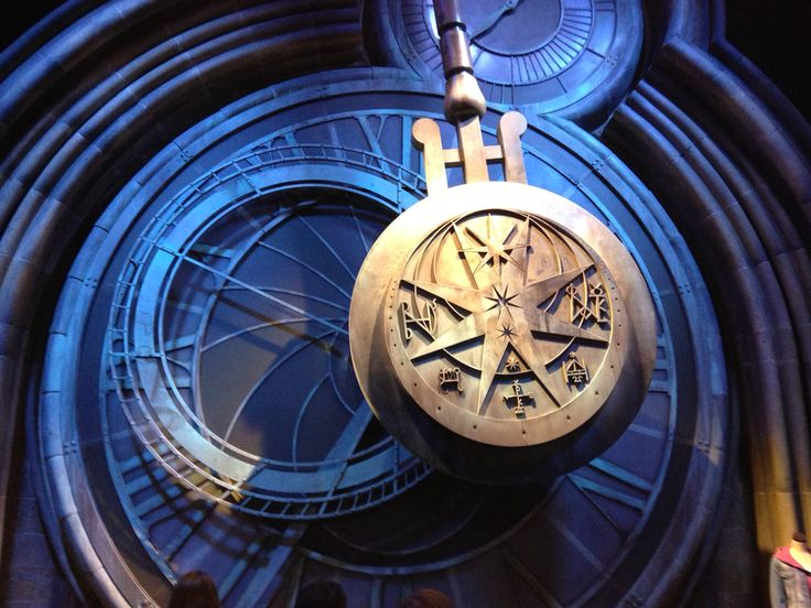 Clock in Harry Potter movies