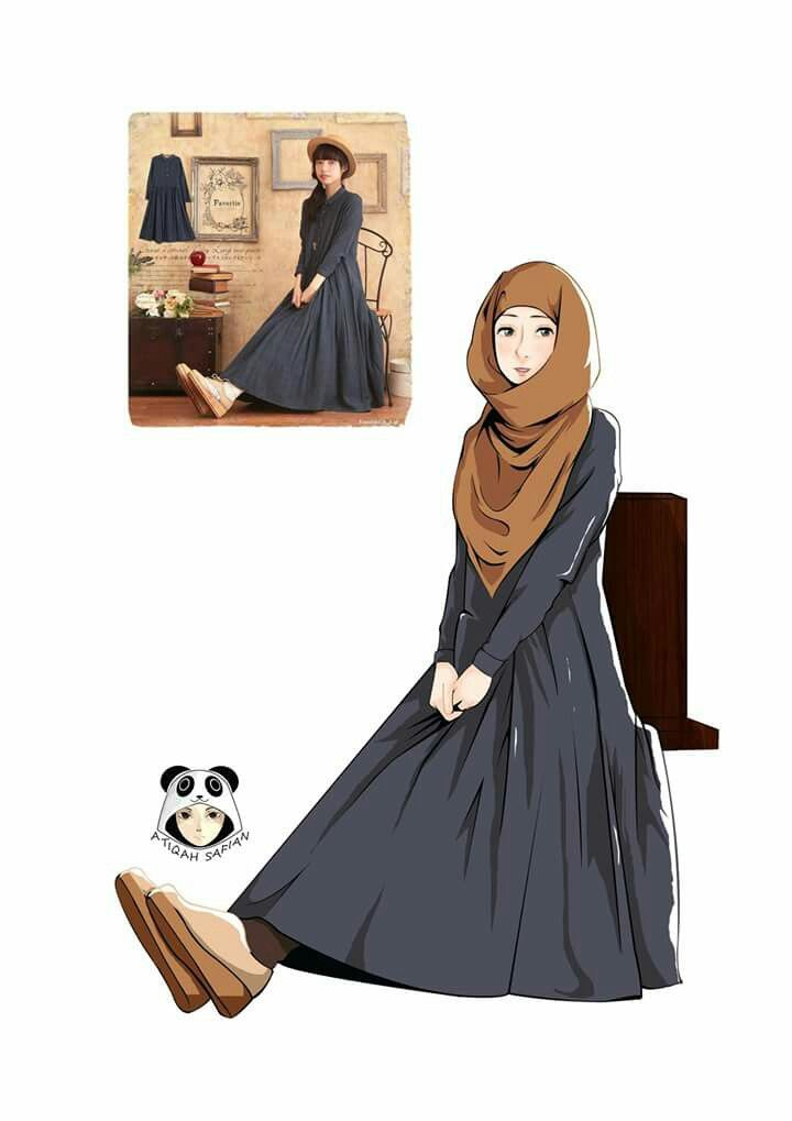 Hijab Fashion (Anime)