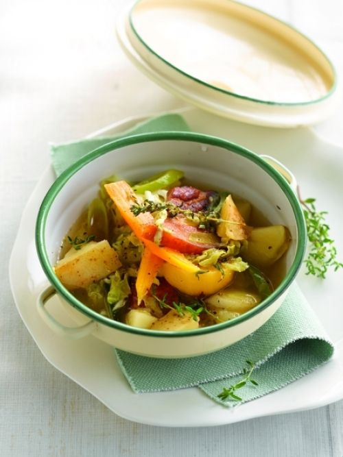 Winterse aardappelstoofpot