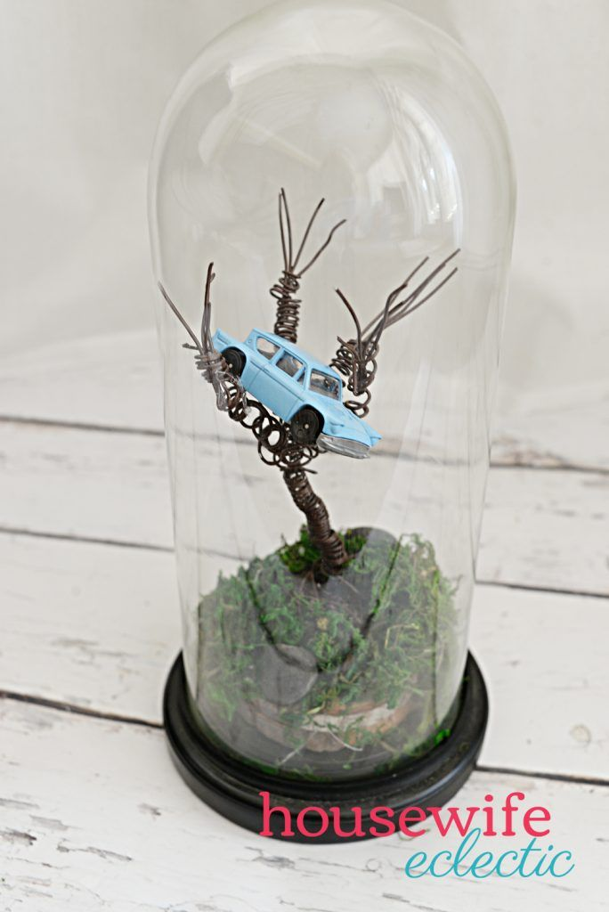 Harry Potter Diy Wire Whomping Willow Harry Potter Diy Harry