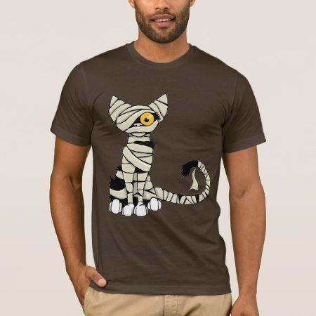 Halloween Mummy Cat T-Shirt - click to get yours right now!