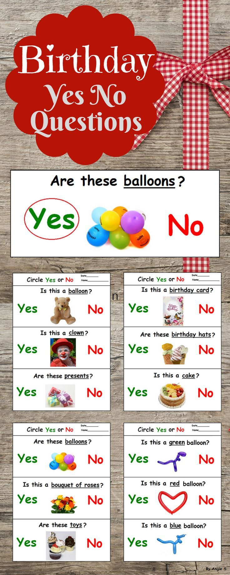Pin By Joan On Preschool Yes Or No Questions This Or That Questions Special Education Elementary