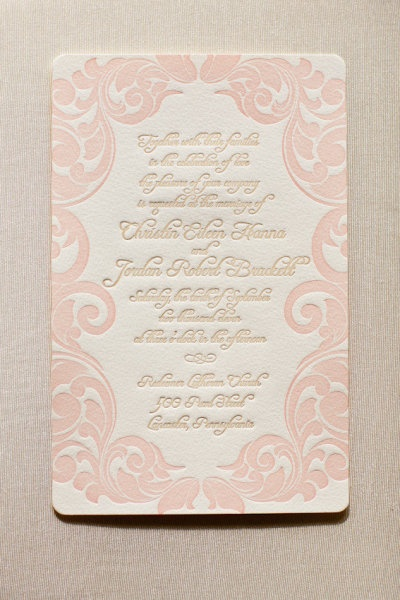 Kristyn castonzo wedding invitations
