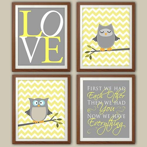 Nursery ideas - owl theme