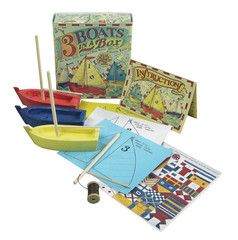 Three Boats in a Box | Paper Products Online