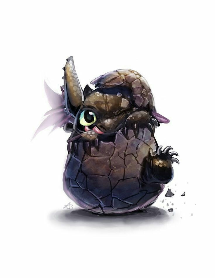 Toothless Hatching