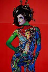 Znalezione obrazy dla zapytania malowanie ciał