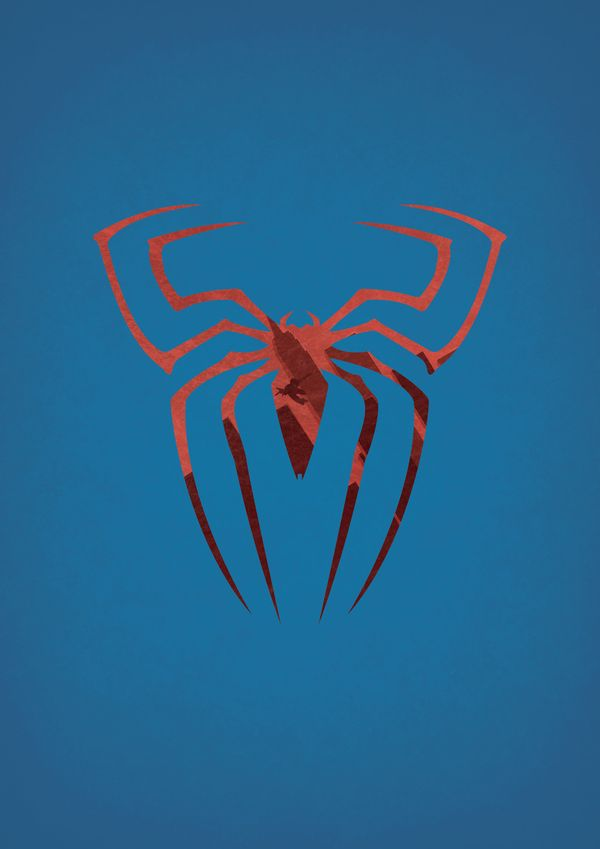 Spiderman - DC / Marvel Superheroes Posters by Alex Litovka, via Behance