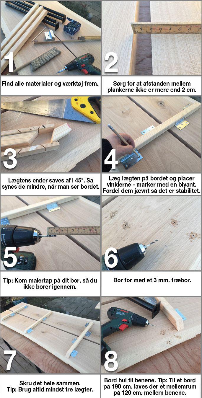 Køb DIY: Plankebord i egetræ online hos BAUHAUS.