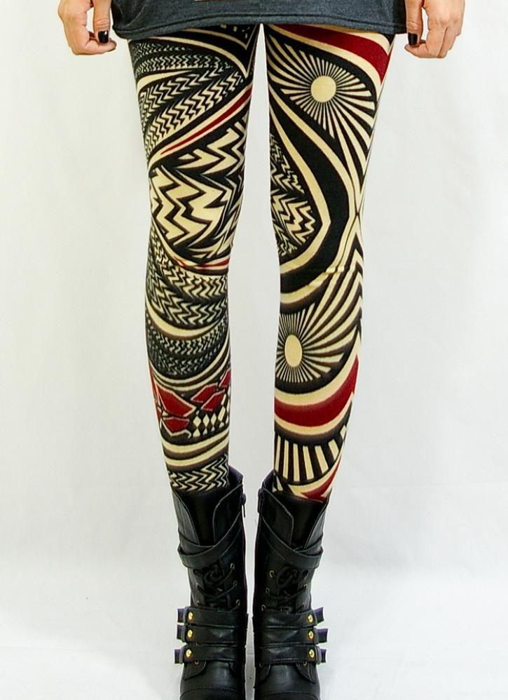 Multi Leggings/Tights - Back stage [Leggings,Tights,Bottoms,Pants] | UsTrendy