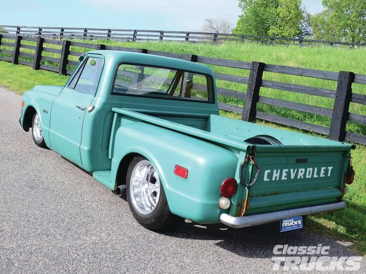stepside c10 | 1970 Chevy C10 Stepside - A Wolf In Sheep's Clothing Photo Gallery