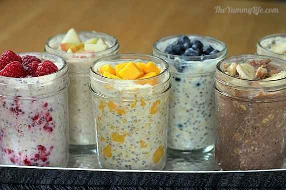 Overnight Oatmeal - Six Ways | 15 Recipes For Overnight Oats To Start Your Day With