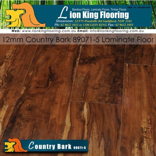 COUNTRY BARK 12mm LAMINATE FLOOR/ FLOORING/ FLOATING FLOORS /TIMBER LAMINATE
