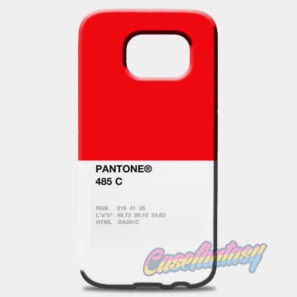 Pantone 485 C Samsung Galaxy S8 Case | casefantasy