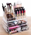 ☾ Acrylic #Makeup Organizer Cosmetic #Jewelry Display Box Case #Holder 4 Dr... Why delay? http://ebay.to/2zjSYh2