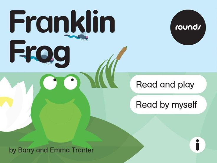Rounds: Franklin Frog is a great introduction to the frog lifecycle for preschoolers