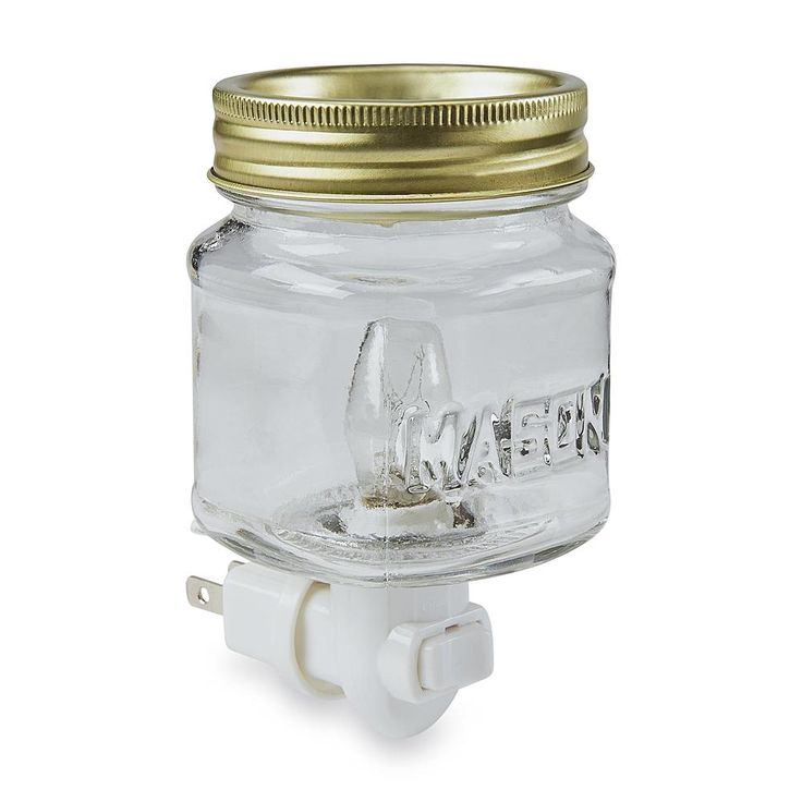 Mason Jar Plug-In Wax Warmer - Home - Home Decor - Candles & Home Fragrance - Candles