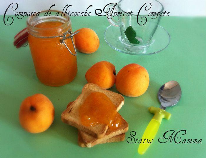 Composta di albicocche Apricot Compote