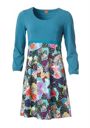 du Milde dress Beau's Butterflies