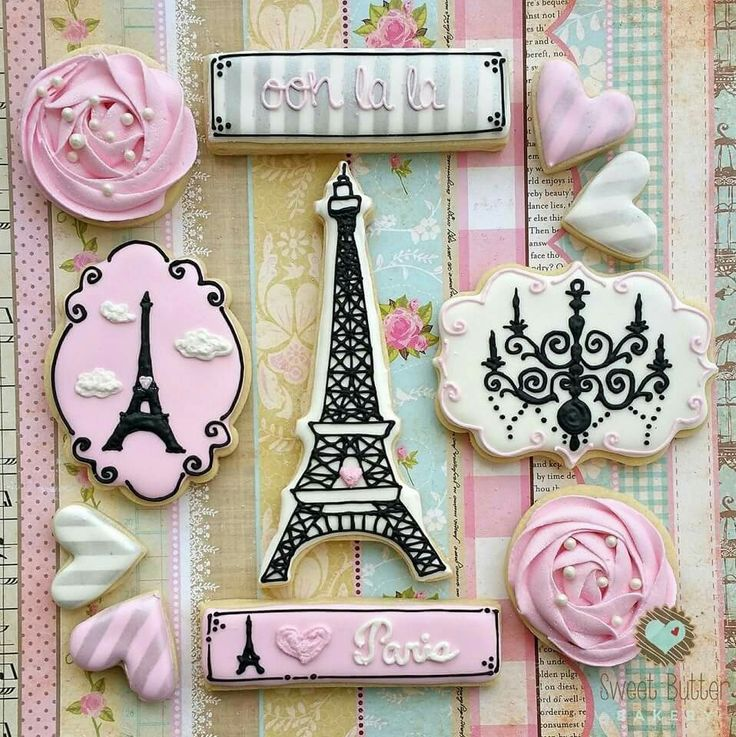 Christine Hayes: Paris theme cookie collection                              …