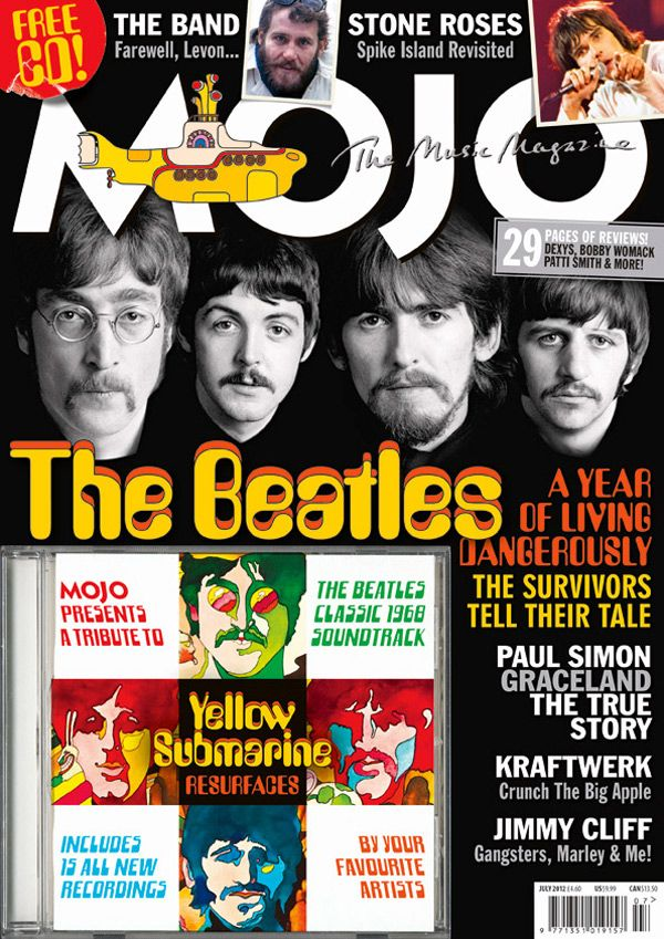 """mojomagazine: """"The 224th issue of MOJO goes on sale next week and features The Beatles, The Stone Roses, Paul Simon, Kraftwerk, Richard Hawley, Regina Spektor, Nina Simone, Jimmy Cliff and a farewell to the late, great Levon Helm. And there's..."""