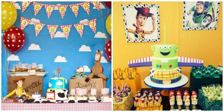 TOY STORY PARTY: Ideas, Online Invitations, Decoration, DIY, cupcakes, cake pops, cake, Woody, Jessie, Buzz Lightyear, costumes & more!  Online Invitations: www.LaBelleCarte.com/en