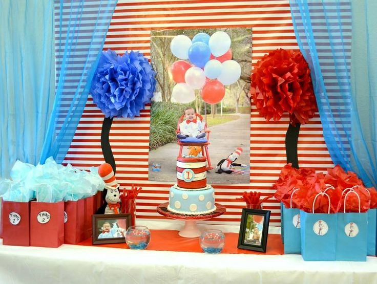 125 Best Dannys First Birthday Cat In The Hat Images On Pinterest