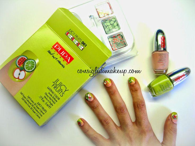 """Consigli di Makeup: NOTD: Pupa – Kit Nail Art Mania """"Juicy Fruits"""""""