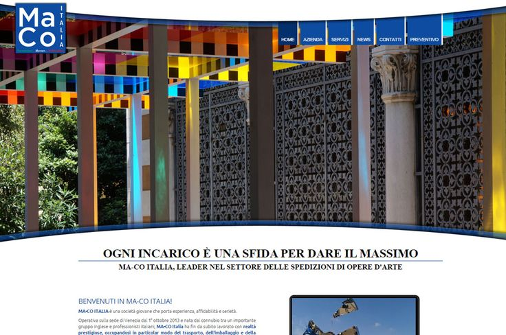 Have you ever had a look to our website?? Let's visit it going to http://www.macoitalia.eu/ , we are waiting for you!
