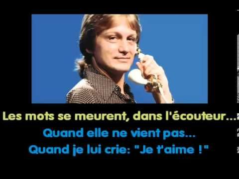 Claude François - Le téléphone pleure karaoké.failed-conv
