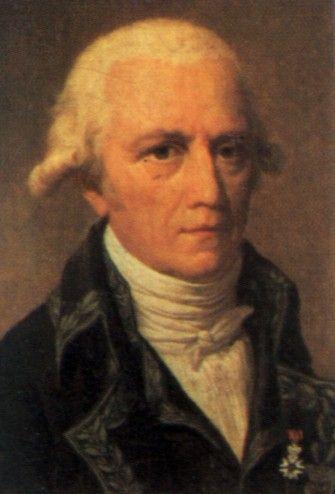 Jean Baptiste de Lamarck - Jean Baptiste de Lamarck nació en 1744 en Bazetin-le-Petit. Muy joven ingresó en el ejército, donde por su valor en combate ascendió rápidamente a oficial. En 1768 debido a una herida en el cuello tuvo que abandonar la carrera de las armas, como solo le quedó una pequeña pensión para vivir, y dada su posición de caballero decidió estudiar medicina, profesión que nunca llego a practicar