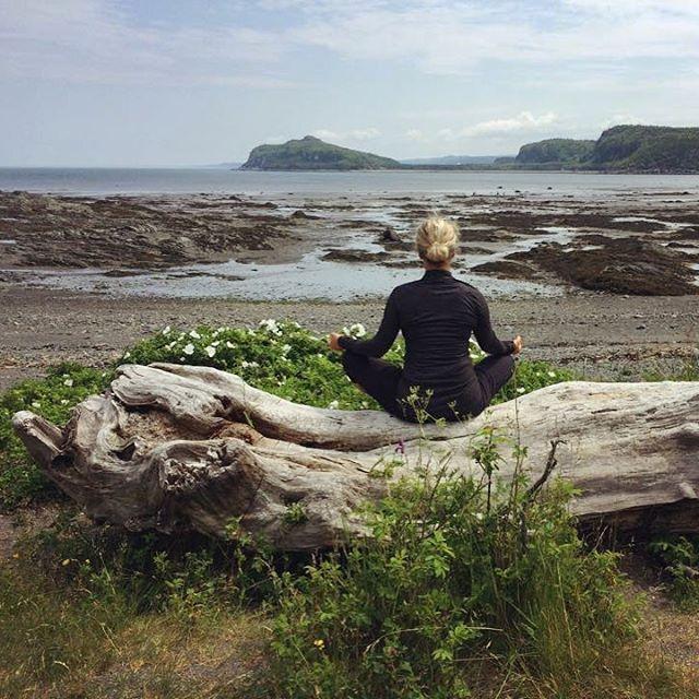 Prenez le temps de méditer et d'apprécier le moment présent en vous connectant à vos cinq sens : • Respirez le parfum de l'air frais; • Contemplez la beauté de la nature; • Sentez la caresse du vent sur votre peau; • Écoutez les sons qui vous entourent; • Savourer le goût de la vie ! Bon début de semaine à tous ! #namaste #leBic #meditation #innerpeace