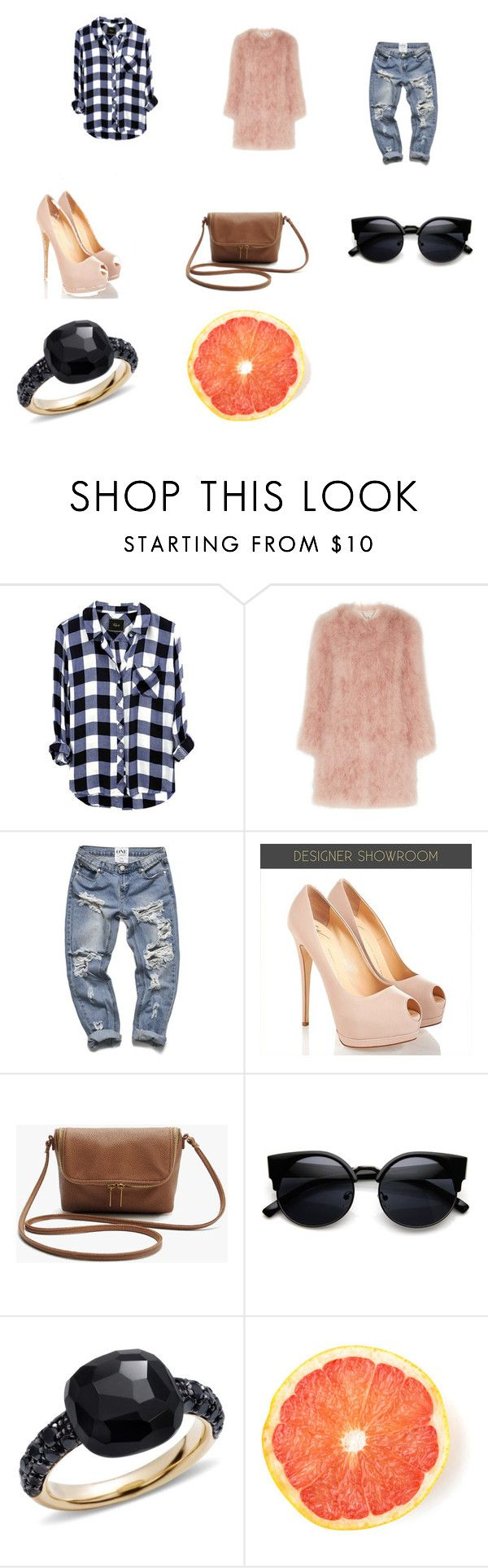 """""""Sassy"""" by sarah-blevins on Polyvore featuring Topshop Unique and Pomellato"""