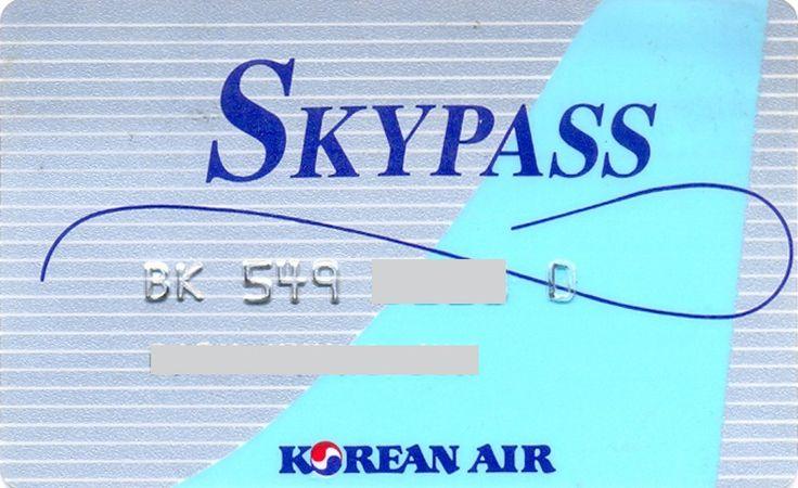 Korea Air Skypass Silver (Airlines, Korea, South) (Korean Air)