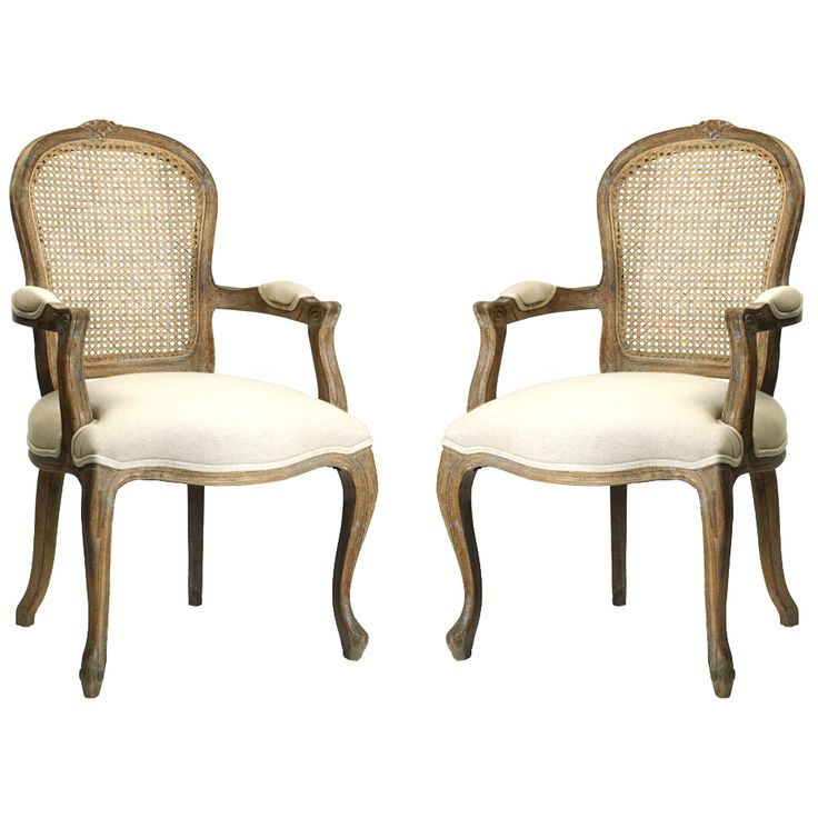Furniture Chairs Cane Back Wood French Chairs New
