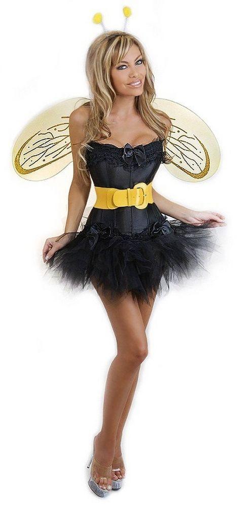 243dee15c Daisy Corsets 5 PC Sexy Bumblebee Women s Costume  bumblebeemovie  bumblebee   transformers