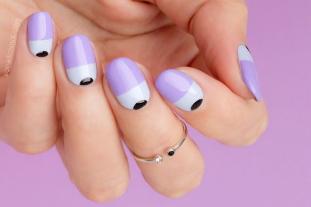Tutorial: Next Level Two Tone Nails