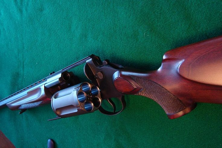 MTs-255. Russian 12 gauge revolving shotgun.