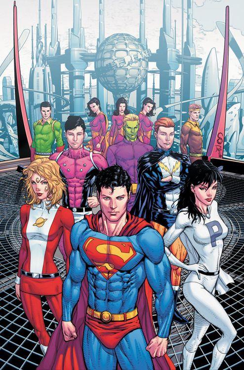 Superman & The Legion Of Superheroes by Scott Clark & Dave Beaty