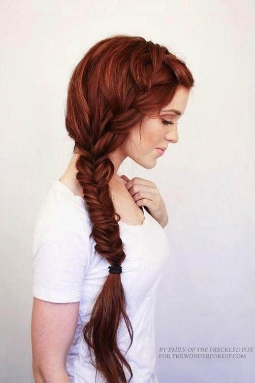 17 Inspiradores Peinados Con Pelo Largo | Cut & Paste – Blog de Moda