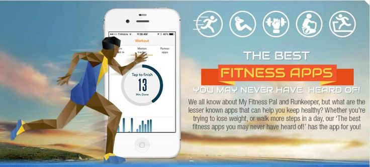 """We all know about My Fitness Pal and Runkeeper, but what are the lesser known apps that can help keep you healthy? Whether you're trying to lose weight, or walk more steps in a day, our """"The best fitness apps fitness apps you may have never heard of,"""" has the app for you!"""