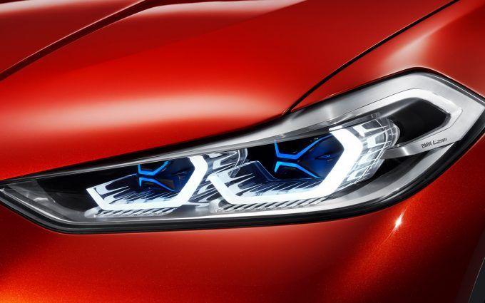 BMW X2 Wallpaper Laser Headlights